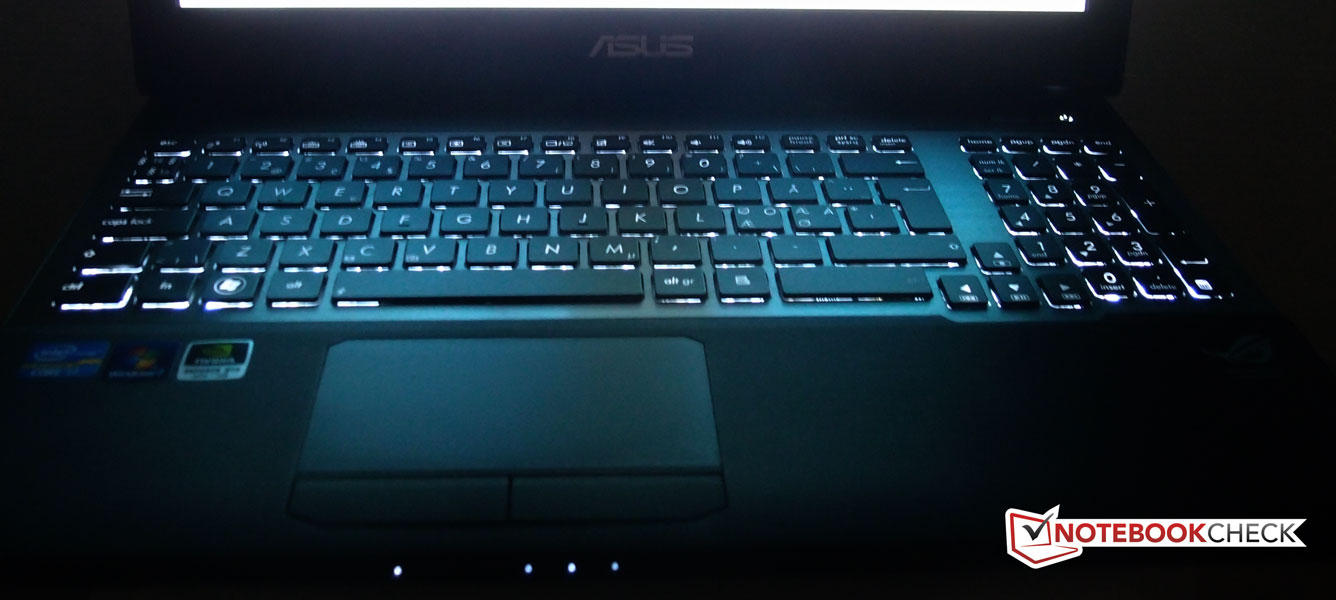 Review Asus G55vw S1020v Notebook Notebookcheck Net Reviews
