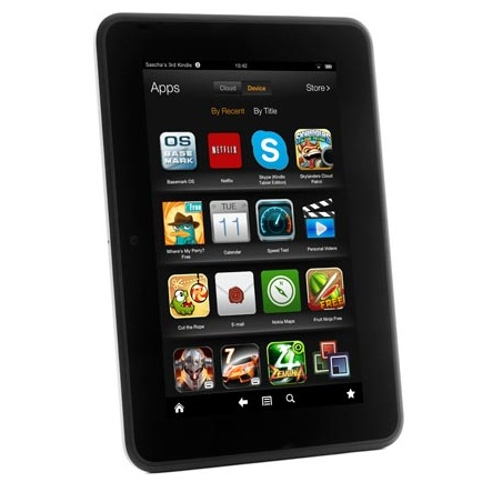 Review Amazon Kindle Fire Hd 7 Tablet Notebookcheck Net