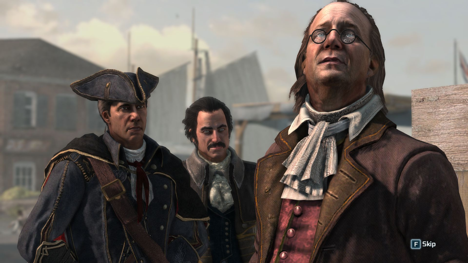 assassins creed 3 historical characters