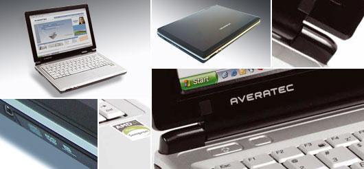 Averatec 2460 - Notebookcheck net External Reviews