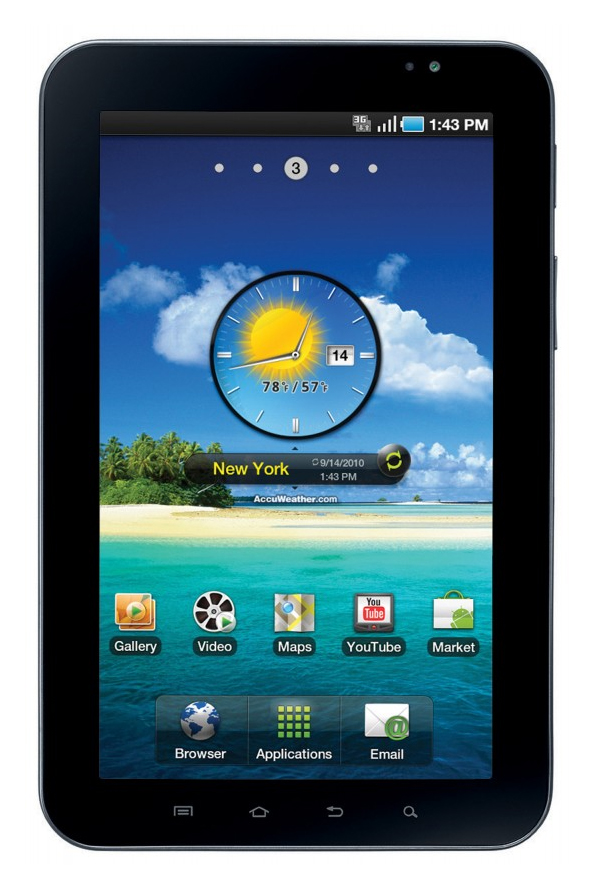 Review Samsung Galaxy Tab 7-inch Tablet/MID - NotebookCheck net Reviews