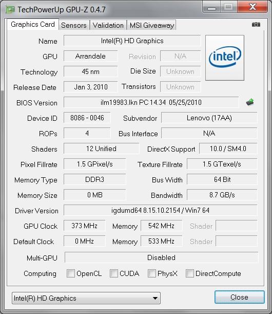 Review Lenovo ThinkPad T510 Notebook (Optimus