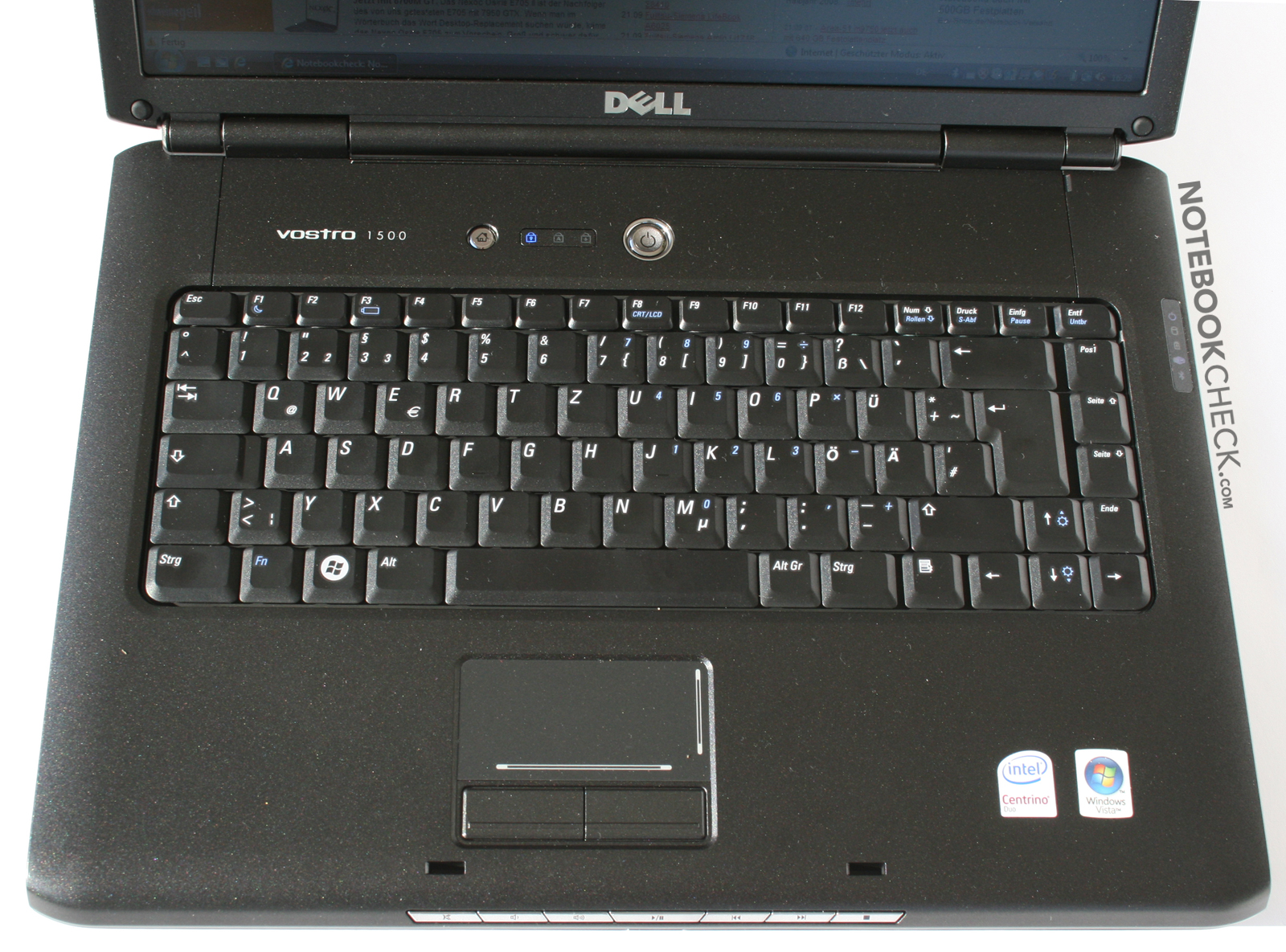 review dell vostro 1500 laptop notebookcheck net reviews rh notebookcheck net Vostro 1500 Bluetooth Driver dell vostro 1500 user guide manual