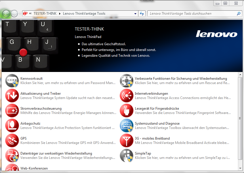 Lenovo Vantage Download