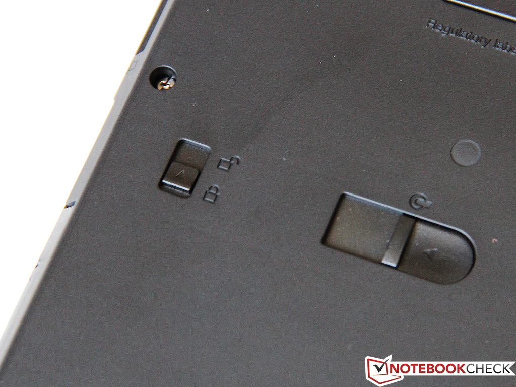 UltraBay lock