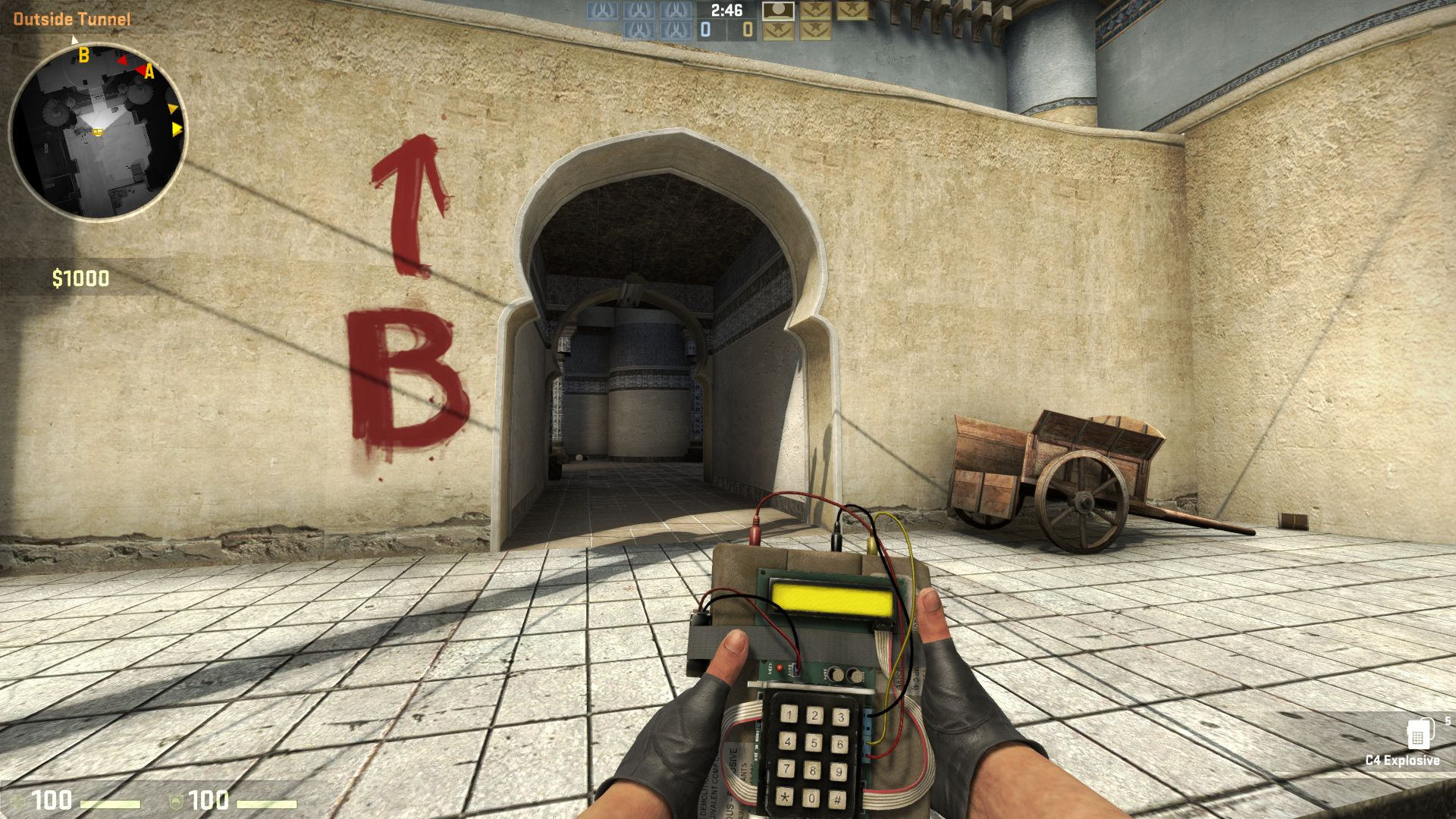 Counter strike global offensive 9500gt backpack cs go