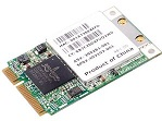 A mini-PCIe WLAN card.