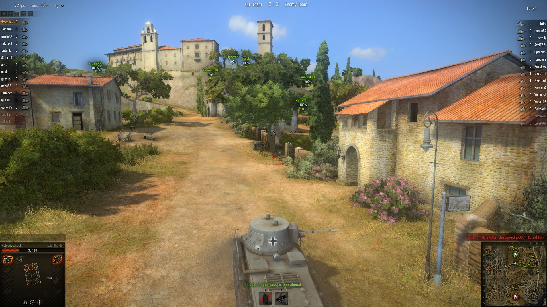 World of tanks v80 benchmarked notebookcheck reviews some maps are quite idyllic gumiabroncs Choice Image