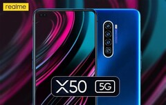 The X50 5G. (Source: Realme)