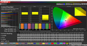 ColorChecker (Profile: Cinema, target color space: DCI-P3)