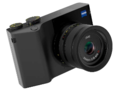 The Zeiss ZX1 compact camera offers a 0.7-inch OLED EVF. (Image source: Zeiss)