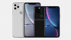 Spot the difference: The iPhone XI and XI Max (Image source: CashKaro)