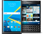 The Blackberry Priv and Passport are no longer available directly from Blackberry. (Image: Blackberry)