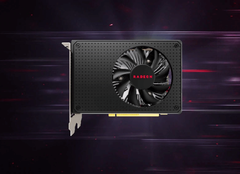 The latest Radeon 600 does not feature any 7 nm goodness, as it only includes 14 nm and even 28 nm GPU models. (Source: TechSpot)