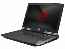 The Asus ROG G703GX, test unit provided by Asus Germany.