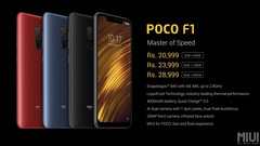 Xiaomi has priced the Poco F1 very aggressively. (Source: Xiaomi)