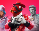 Fortnite players can currently enjoy a Valentine's Day theme. (Source: Epic Games)
