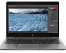 HP ZBook 14u G6 laptop review: The mobile workstation has problems with performance