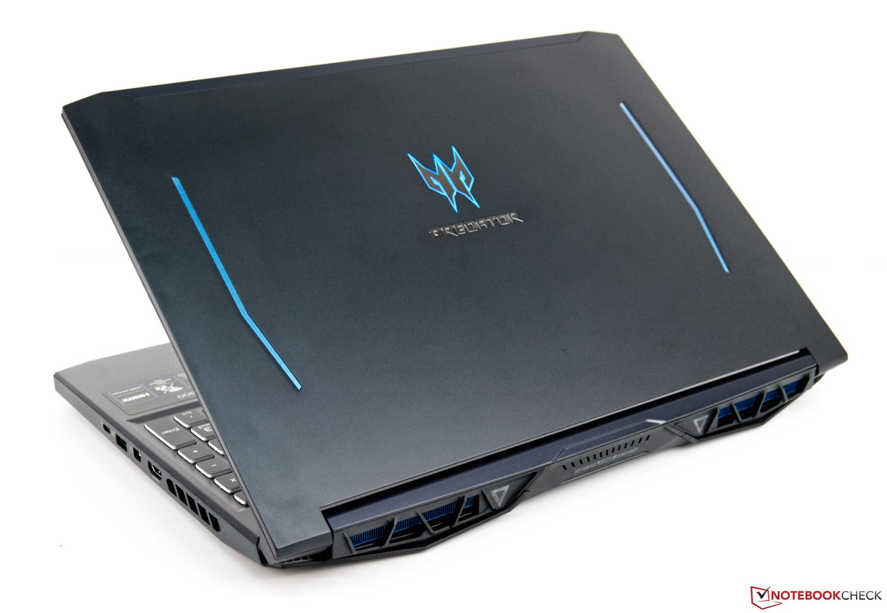Acer Predator Helios 300: игровой ноутбук среднего класса с ужасным временем автономной работы и неутешительными динамиками