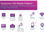 Qualcomm 205 Mobile Platform is now official, first devices to use it coming in second quarter