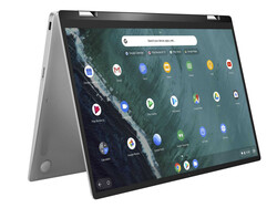 The Asus Chromebook Flip C434TA (90NX0231-M03340), provided by Asus Germany.