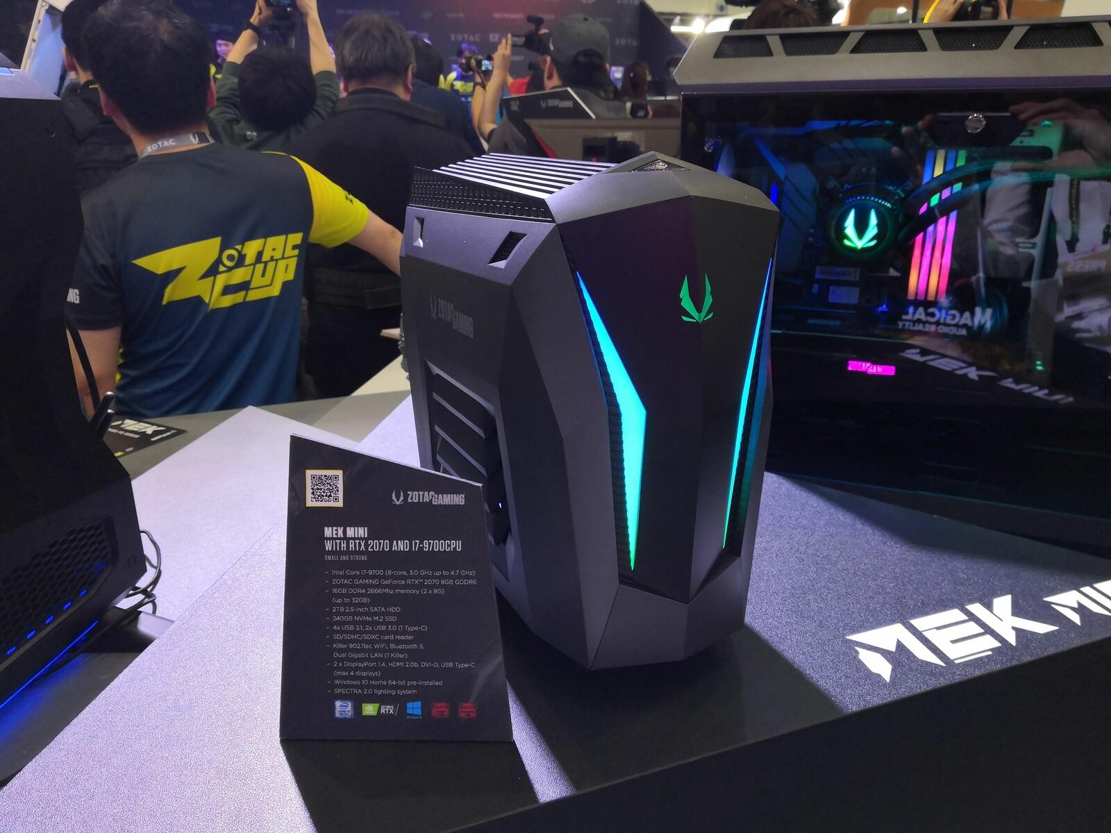 Zotac updates the MEK MINI gaming PC - NotebookCheck net News