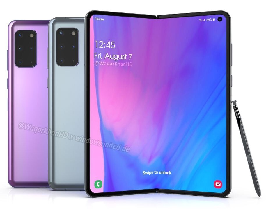 New Galaxy Fold 2 and Galaxy Z Flip 5G details get leaked ...