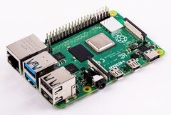 The Raspberry Pi 4 should run cooler with the 0137a8 update. (Image source: Raspberry Pi Foundation)