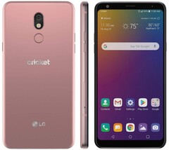 LG Stylo 5 exclusively available in Blonde Rose on Cricket Wireless (Source: Cricket Wireless)