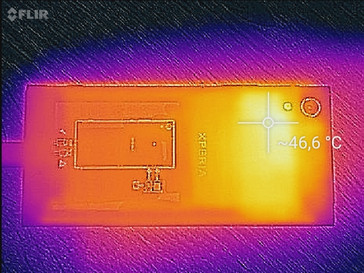 Heat-map rear