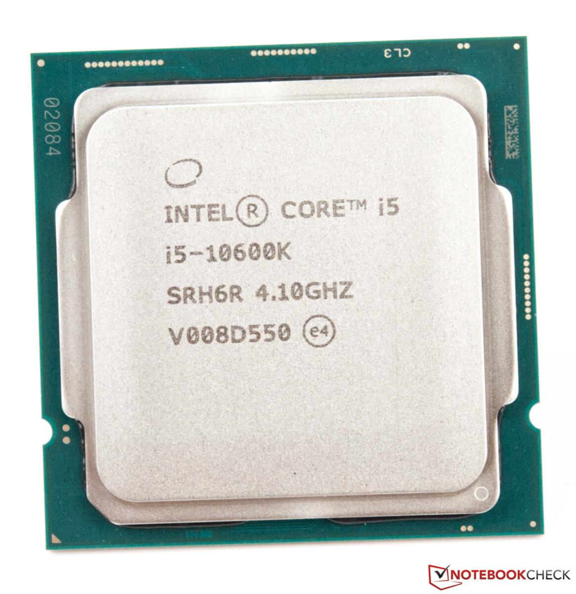 Intel Core I9 10900k Vs Intel Core I5 10600k