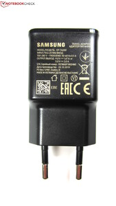 The included 15-Watt AC adapter