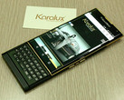 Karalux BlackBerry Priv custom 24K gold-plated Android smartphone