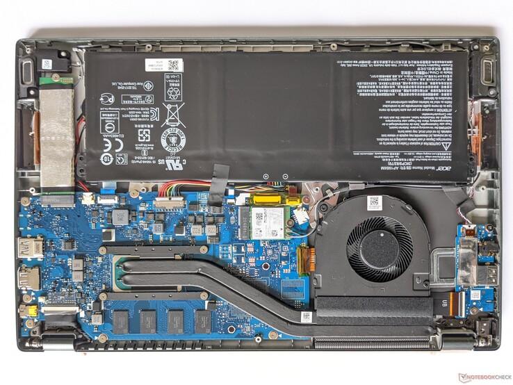 Acer Swift 5 SF514 - Maintenance options
