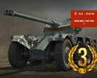 Panhard EBR 75 FL 10 premium tank in World of Tanks available via The Challenge on Wheels event