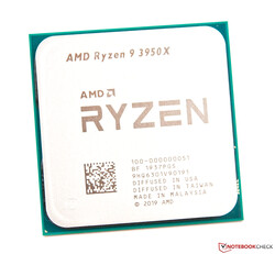 The AMD Ryzen 9 3950X in review: Provided by
