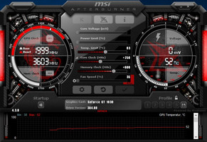 MSI Afterburner (overclocked)