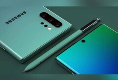 Renders of the Galaxy Note 10. (Business Today)