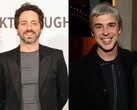 Google founders Larry Page and Sergey Brin are stepping down their respective roles as CEO and President of Alphabet. (Source: Getty)