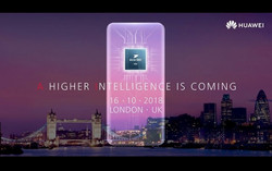 Huawei has already sent out the invitations to its official presentation on October 16, 2018 in London