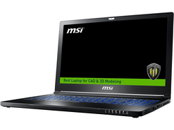 In review: MSI WS63VR 7RL-023US. Review unit courtesy of MSI.