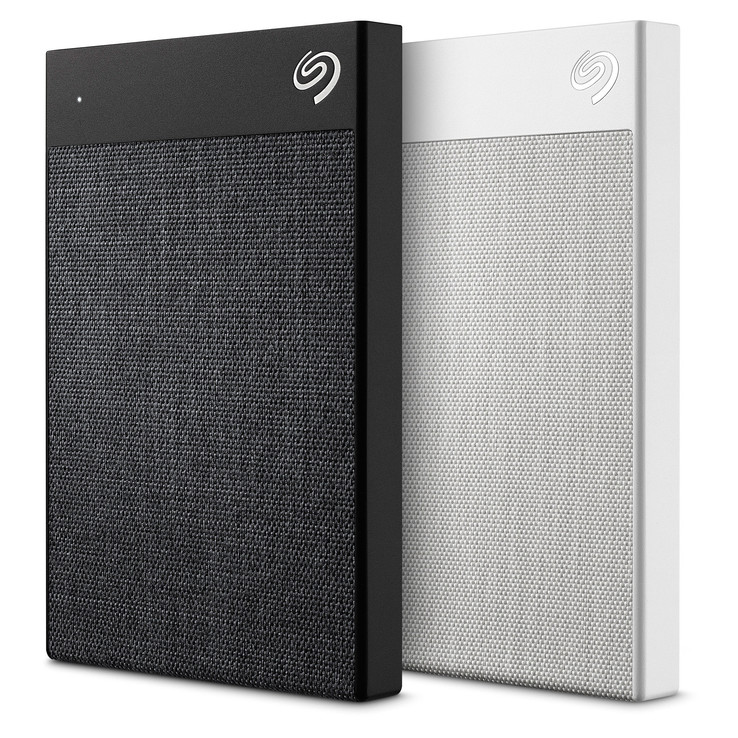 The Seagate Backup Plus Ultra Touch sports a new tactile look and feel. (Source: Seagate)