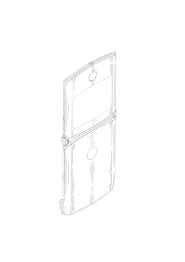 A look at Motorola Mobility's patented design. (Image source: EUIPO)