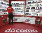NTT DoCoMo store in Japan, tablet sales dropped in Japan in 2016 for the first time