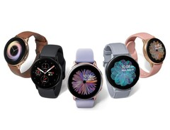 The Galaxy Watch Active 2 is one of two Samsung smartwatches to receive new features this month. (Image source: Samsung)