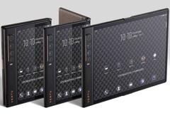 Vertu Ayxta Fold 5G luxury foldable (Source: JD.com)