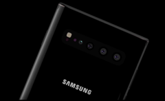 Concept render of the Samsung Galaxy Note 10 phablet. (Source: ConceptCreator)
