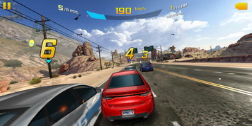 We recommend running Asphalt 8 on lower settings for noticeably faster frame rates