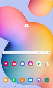 Galaxy Tab S6 Lite Software: Android 10, OneUI e Bixby