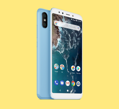 The Xiaomi Mi A2 has received a new update. (Image source: Xiaomi)